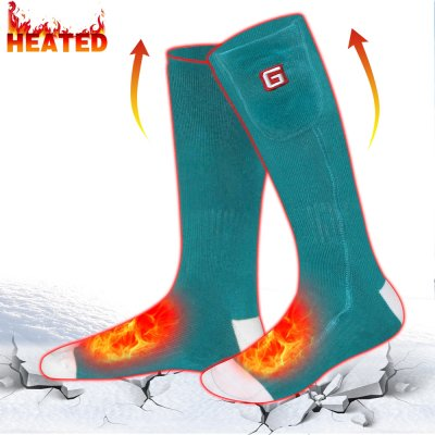 Global Vasion Electric Warm Heated Socks for Chronically Cold Feet